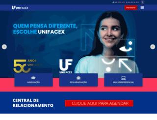unifacex.com.br screenshot