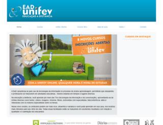 unifevonline.com.br screenshot