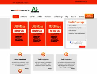 unifi-tm.com.my screenshot