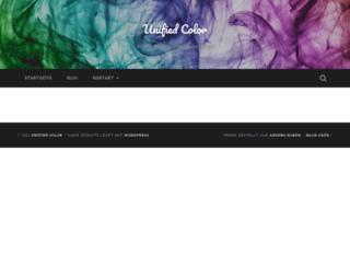 unifiedcolor.de screenshot