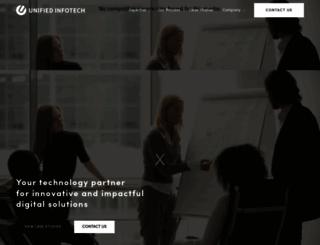 unifiedinfotech.net screenshot