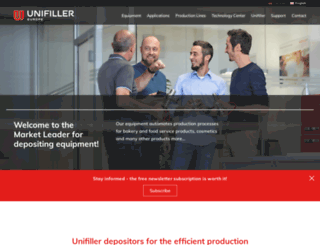 unifiller-europe.de screenshot