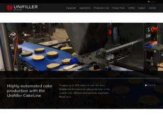 unifiller-europe.de screenshot