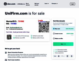unifirm.com screenshot