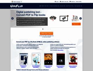 uniflip.com screenshot