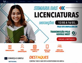 uniflu.edu.br screenshot
