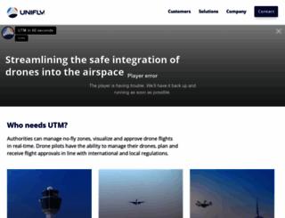 unifly.aero screenshot