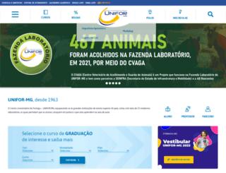 uniformg.edu.br screenshot