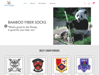 uniformsolutions.co.in screenshot