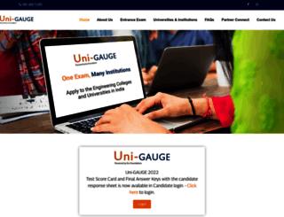 unigauge.com screenshot