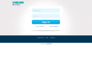 uniglobemodtravel.in screenshot