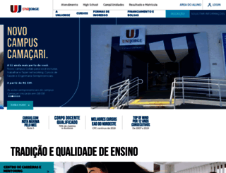 unijorge.edu.br screenshot