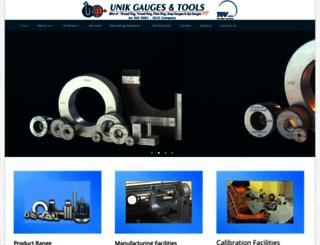 unikgaugesindia.com screenshot