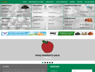 unikom.cz screenshot