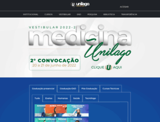 unilago.edu.br screenshot