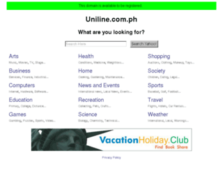 uniline.com.ph screenshot