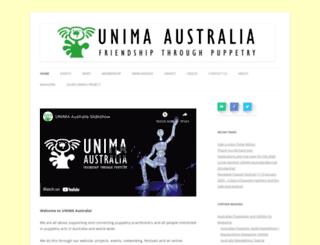 unima.org.au screenshot
