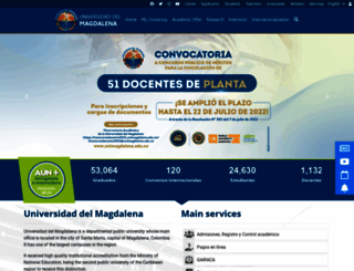 unimagdalena.edu.co screenshot