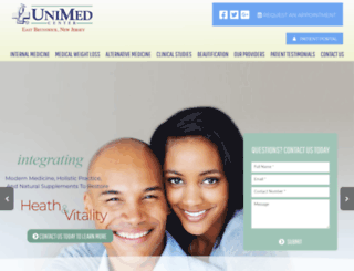 unimedcenter.com screenshot