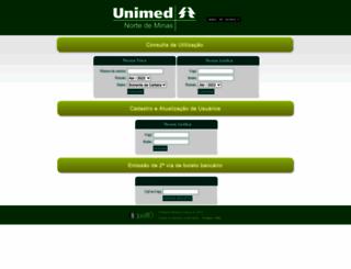 unimedmc.com.br screenshot