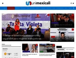 unimexicali.com screenshot