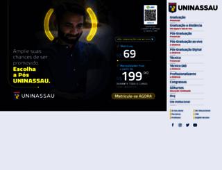 uninassau.edu.br screenshot