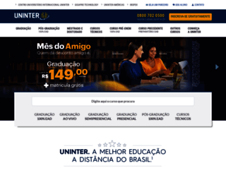 uninter.com screenshot