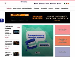 unioeste.br screenshot