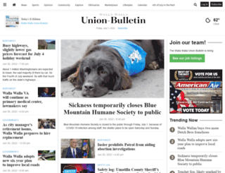 union-bulletin.com screenshot
