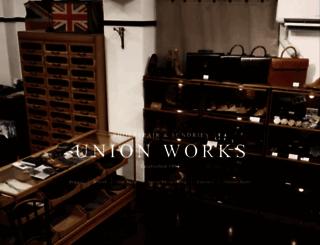 union-works.co.jp screenshot
