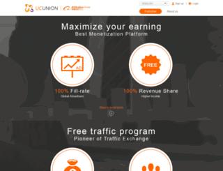 union.ucweb.com screenshot