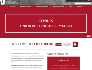 union.utah.edu screenshot
