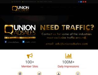 unionadsales.com screenshot