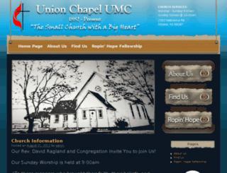 unionchapelumcottawa.org screenshot