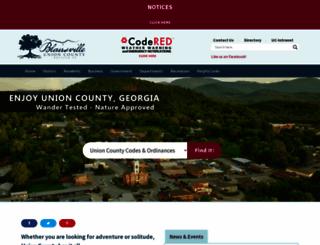 unioncountyga.gov screenshot