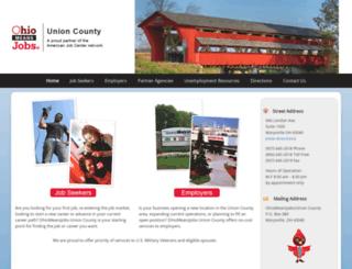 unioncountyjobs.org screenshot