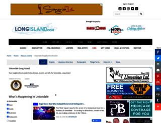 uniondale.longisland.com screenshot