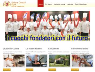 unionecuochifvg.com screenshot