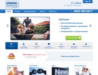 unioninsurance.co.uk screenshot
