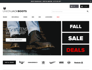 unionjackboots.com screenshot