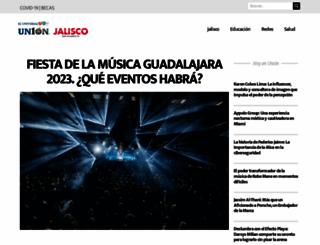 unionjalisco.mx screenshot