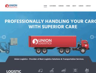 unionlogisticsinc.com screenshot