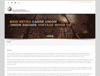 unionsquarevintagewood.com screenshot