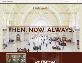 unionstationdc.com screenshot