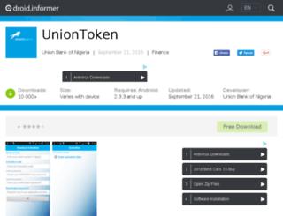 uniontoken.android.informer.com screenshot
