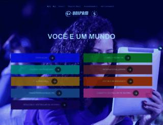 unipam.edu.br screenshot