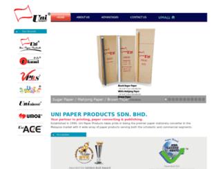 unipaper.com.my screenshot