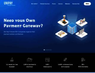 unipaygateway.com screenshot