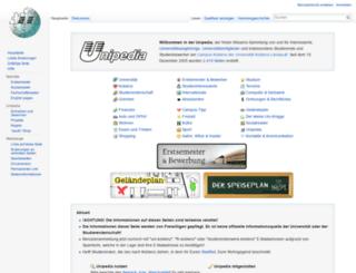 unipedia.uni-koblenz.de screenshot