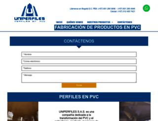 uniperfilesltda.com screenshot